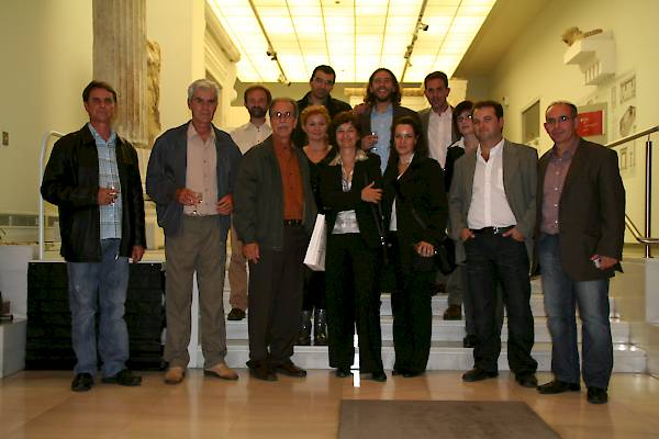 Ceremony Europa Nostra winners 2008. Archaeological museum of Thessaloniki (12 June 2008).