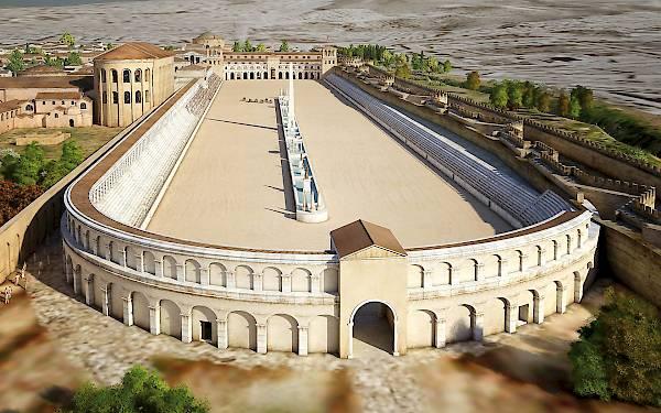The Hippodrome - Galerius Palace