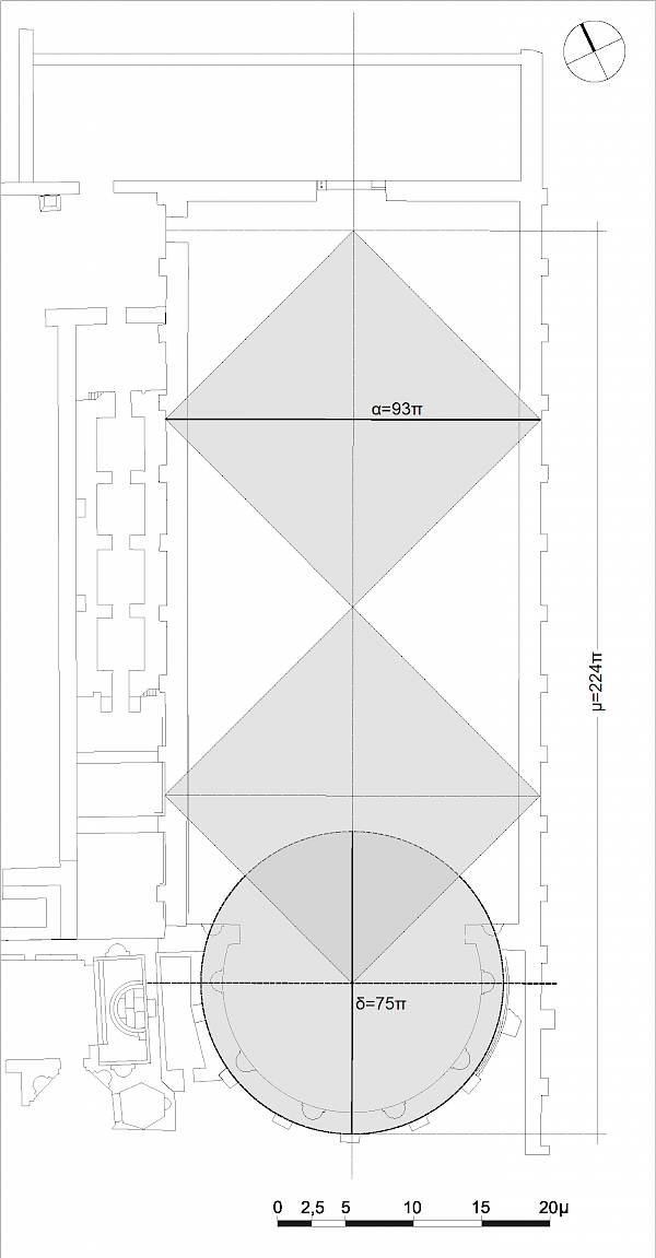 Basilica. Plan. The proportions